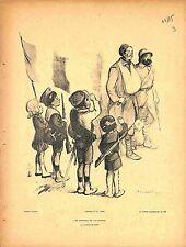 Le Journal Publie La Loupiote Vintage Ad Poster F Poulbot France 24X36 New