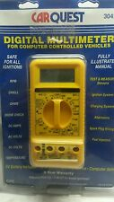 CarQuest Digital Multimeter For Computer Controlled Vehicles # 30426