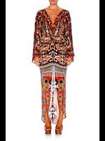 Camilla Twist Front Dress Size AU 14-16 Pilgrim Waving-Vintage Rare