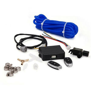 Universal Wireless Electronic Remote Exhaust Cutout Valve Controller Vacuum
