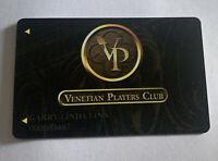 Venetian Players Club Card Hotel Casino Las Vegas Nevada Vacation Resort