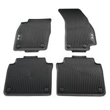 Original Audi A8 (D5 4N) Gummi Fußmatten vorn hinten Allwettermatten NWB OEM