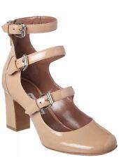 Tabitha Simmons Ginger Nude 11 41 triple buckle strap maryjane pump shoe $745