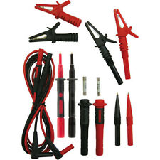 7156AKY KYORITSU Safety Test Leads With Fuse & Alligator Clip Kit Includes: Test