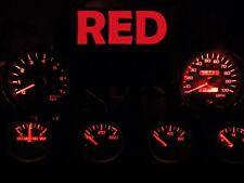 92 95 Jeep Wrangler YJ Gauge Cluster LED Dashboard Bulb Red