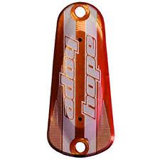 Hope Tech 3 Master Cylinder Cap Lid Orange - Brand New