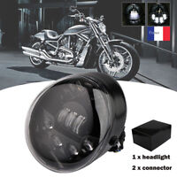 Motorcycle LED Ovale Phare Pour Harley Davidson VRSC V-rod 2002-2017