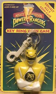 Mighty Morphin Power Rangers Key Ring Coin Case