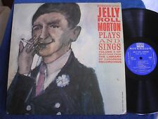 Jelly Roll Morton Plays & Sings/From LOC Sessions/1956/Riverside RLP 12-133/M-