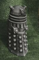 STONE GARDEN DOCTOR DR WHO DALEK DETAILED BLACK AND WHITE ORNAMENT