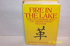 FIRE IN THE LAKE Frances Fitzgerald USA 1972 First Edition Sixth printing SIGNED