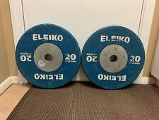 Eleiko 20kg Competition Bumper Plates - *PAIR*