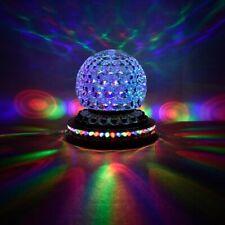 LED Discokugel Party RGB Rotierende Bühnenbeleuchtung DJ Disco Lichteffekt EU