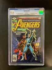 AVENGERS  #185   CGC 9.8   WHITE PAGES -   Origin of Quicksilver / Scarlet Witch