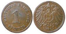 J 10   1 Pfennig Kaiserreich 1892 E in SS-VZ  502807