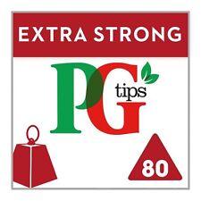 PG Tips extra fuerte 80 Pirámide Bolsitas De Té 232G-se vende en todo el mundo desde UK