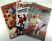Marvel DEADPOOL MAX #2 + #15 Mini-Mates VARIANT + #24 LOT of 3 VF/NM Ships FREE!
