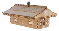 ST003 Mid Sized Island Station Building OO Gauge Laser Cut Kit