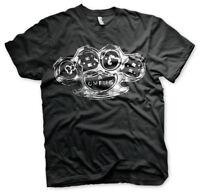 CBGB & OMFUG Knuckle Punk Rock Musik Club New York Männer Men T-Shirt Schwarz