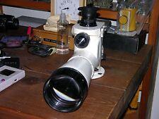 The white Kern Telescope Aarau Heerbrugg Swiss Surveyor