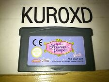NINTENDO GBA BARBIE THE PRINCESS AND THE PAUPER PAL EUR SOLO CARTUCHO