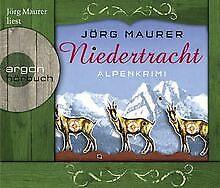 Niedertracht (Hörbestseller): Alpenkrimi von Maurer, Jörg | Buch | Zustand gut
