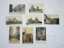 8 Stück alte uralte antike vintage Konvolut Postkarten von ERFURT ungelaufen