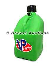 VP Square Green Racing Jug Fuel Storage Container Gas Can 5 Gallon