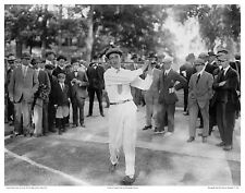 """11x14"""" PHOTO: FRANCIS OUIMET TUNES 1913 US OPEN GOLF THE COUNTRY CLUB BROOKLINE"""