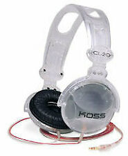 Koss CL-20 Clear Stereo Headphones - #182296 - 8FT CORD