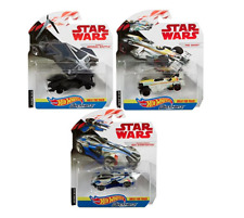 Hot Wheels Star Wars Carships Krennic's - OBI WAN JEDI STARFIGHTER - GHOST RARE