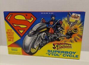 """Kenner 1995 Superman Man Of Steel SUPERBOY """"VTOL"""" Cycle"""