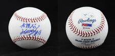 Hisashi Iwakuma SIGNED ROMLB Baseball Mariners Rookie graph PSA/DNA AUTOGRAPHED