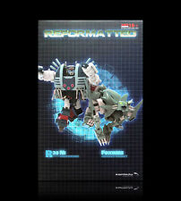 Transformers Mastermind Creations Reformatted R-38 Foxwire & NI 2 Pack MISB