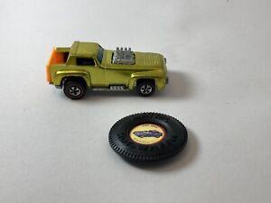 Hot Wheels Redline 1970 Metallic Yellow Short Order  HONG KONG With button