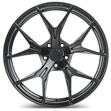 "20"" Rohana RFX5 Matte Black Concave Wheels for Audi"