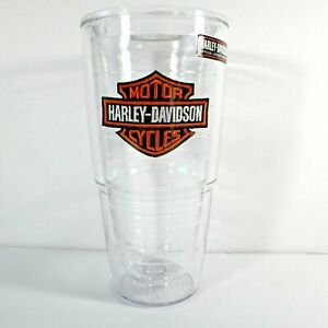 Harley Davidson Cup Tervis Insulated 24 Ounce Clear