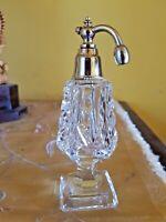 1930s Art Deco Glass atomiser Perfume Bottle