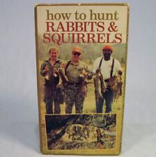 How to Hunt Rabbits and Squirrels VHS Videotape 1991