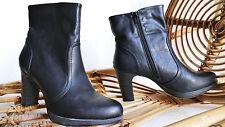 GRACELAND Damen Stiefelette Gr. 41 Plateau Stiefel Damen Schuh elegant neuwertig