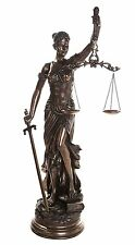"""48"""" Lady Justice Scales of Justice La Justitia Statue Lawyer Attorney Judge"""