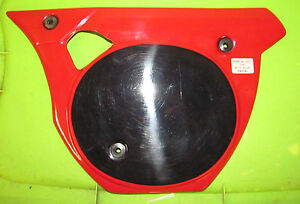 Rickman Montesa NOS 250 53M 63M 73M Cappra Red Right Side Cover p/n R008 06 0261