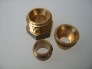 Klemmverschraubung Anschlußsatz 8mm Einstrang Heizölfilter Verschraubung