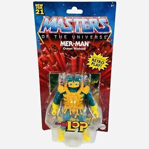MOTU MER-MAN Masters Of The Universe Origins Lords of Power Retro Mattel Figure