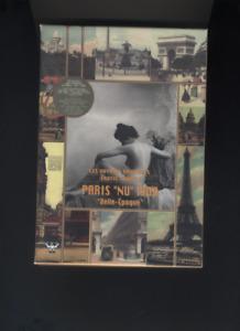 """(213A) CD-ROM Voyages érotiques  erotic travels PARIS NU 1900 """"Belle époque"""""""