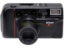 Nikon zoom touch 500s fotocamera autofocus a pellicola con zoom 35/80mm. Macro.