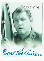 Twilight Zone Series 1 Autograph Card 1999 A-13 Earl Holliman as Mike Ferris