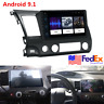 "For 2006-11 Honda Civic 10.1"" Android 9.1 Stereo Radio GPS Navigation 2+32GB USA"
