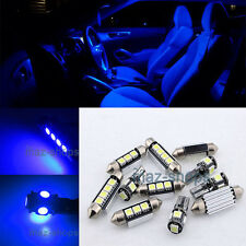 Blue LED Light Interior Package kit 13PC for Volkswagen Jetta 2011-2013