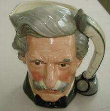 """Royal Doulton Mark Twain Large Toby Jug -- D6654 - 7 1/4"""""""